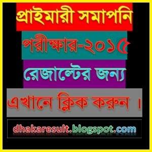 PSC and Ebtedayee Result 2015 dpe.gov.bd