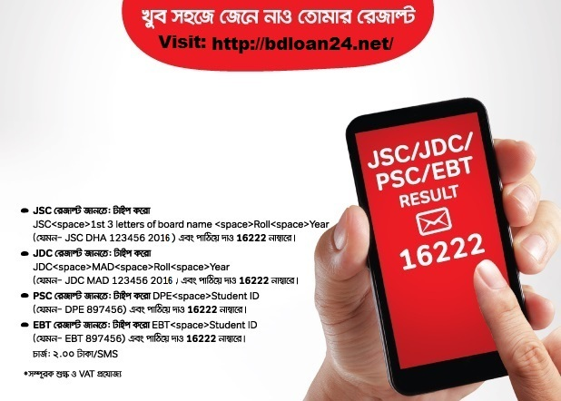 PSC Exam Result 2016 DPE.GOV.BD