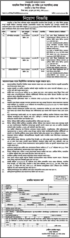 DSHE.GOV.BD Job Circular 2019